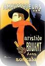 Aristide Bruant dans Son Cabaret, 1890/ Henri de Toulouse-Lautrec.