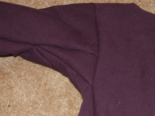 Sleeve, Gusset, and Gore detail