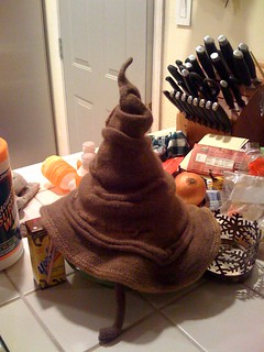 Sorting Hat (Harry Potter) Free Knitting Pattern --- http://www.ravelry.com/patterns/library/sorting-hat