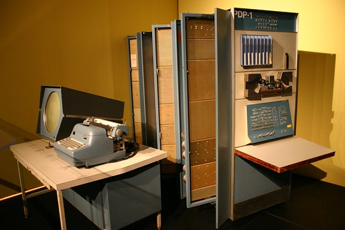 DEC PDP-1 by Peter Dreisiger, on Flickr