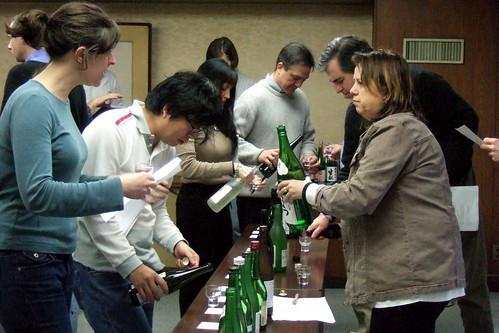 Day 3, classroom tasting, regionality in sake