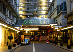 Savoy Hotel, Fleet Street, London