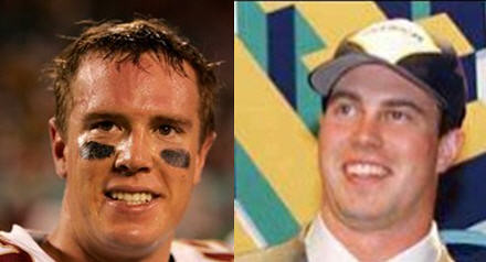 Matt Ryan and Ryan Leaf