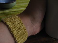yellow cuff