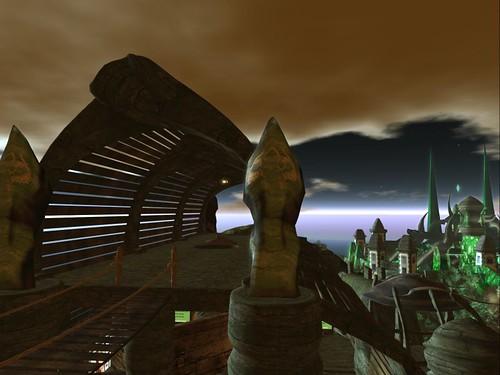 View towards Emerald City