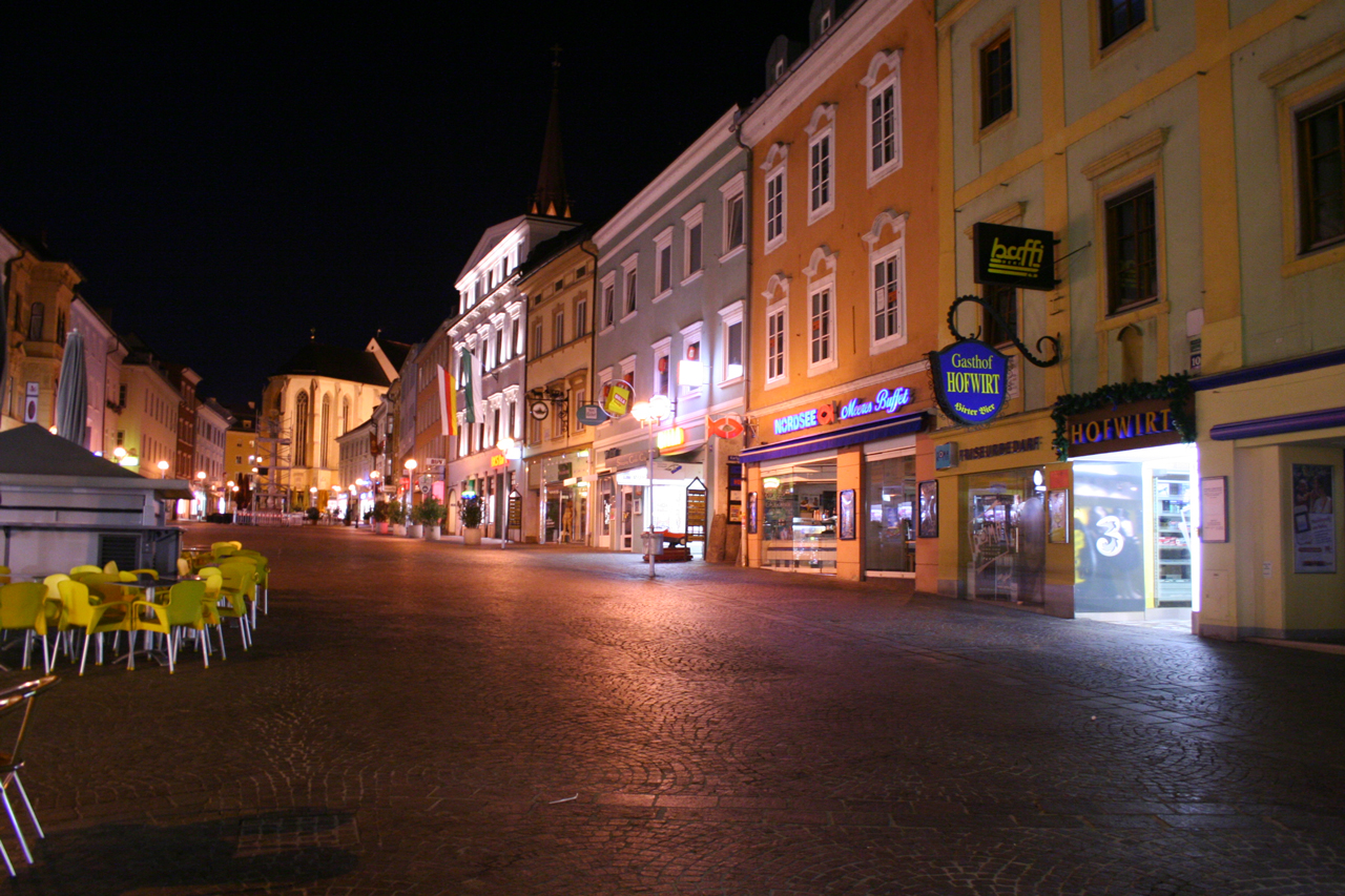 Villach by Night