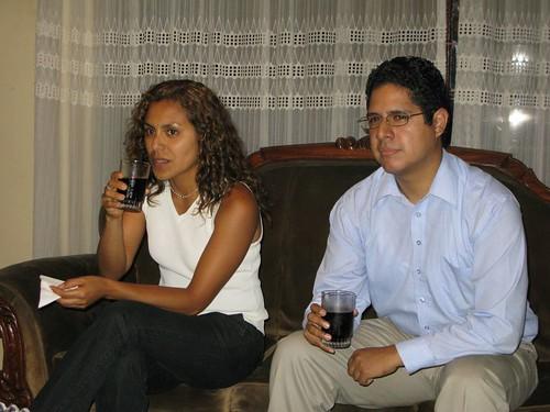 Ana Maria Baca y Carlos Rondan