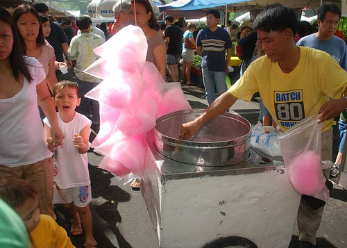 Salcedo market vendor cotton candy sweet Pinoy Filipino Pilipino Buhay  people pictures photos life Philippinen  菲律宾  菲律賓  필리핀(공화�) Philippines