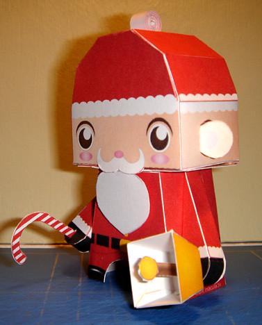 Santa Squealer by macula1.