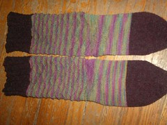 Carnivale du Printemps Socks - top detail