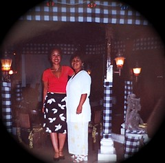 Me and Mom in Bali July 2001