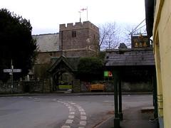 Pub and church