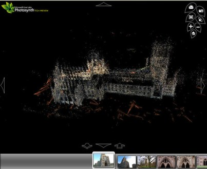 Photosynth Ely Cathedral Flyby