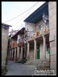 Otra calle en Combarro