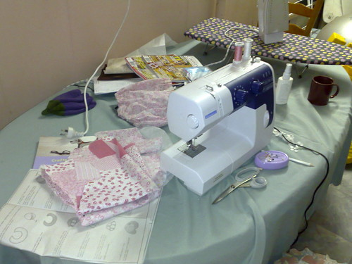 my sewing area