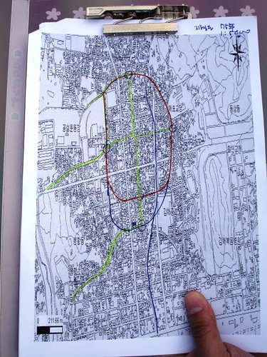 Alt Gimhae Nordtor Karte
