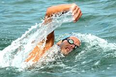 Aquathlon é a modalidade esportiva que possui três provas a serem cumpridas: corrida, natação e corrida – Foto: Thiago Piccoli