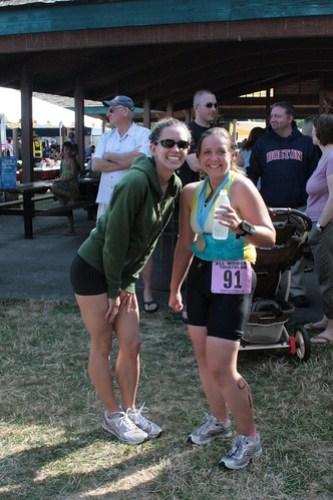 Newly minted triathletes