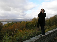 Nicky takes photos at the Lake District