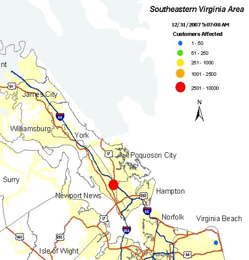Hampton Roads Operational Area