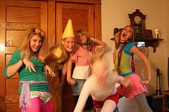 Crazy Girls on Halloween