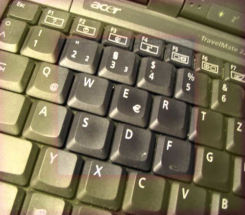 Keyboard. Photo: Ulla Hennig
