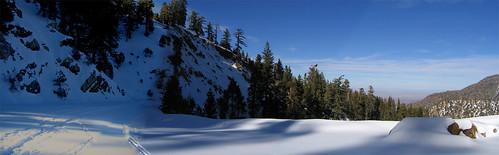 Highway 2 Snowshoe Panorama