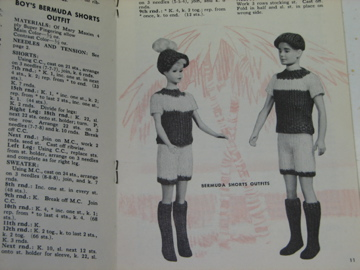 1960s Barbie patterns