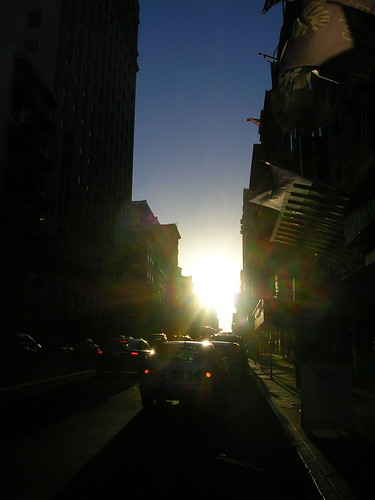 Sunset On Geary
