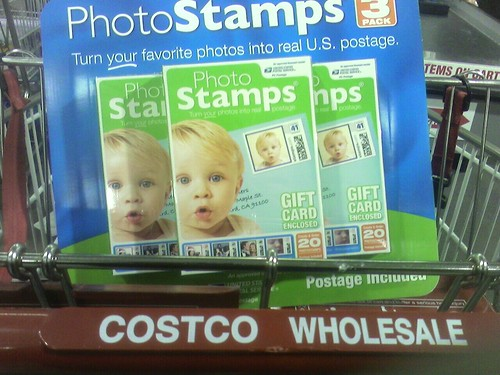 PhotoStamps kits at Costco