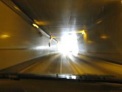 Heading towards the light...