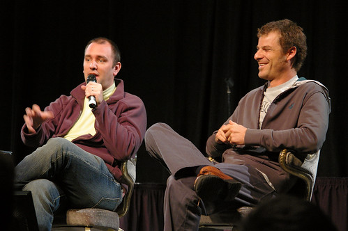 South Park creators Trey Parker & Matt Stone. Photo: José  Ramírez