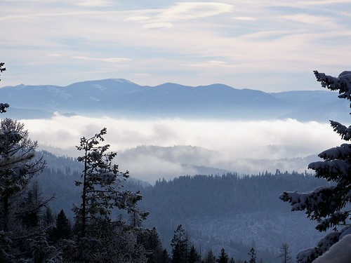 Clark Fork Valley from Weeksville Divide