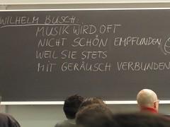 Sabine Breitsameter's Keynote - Busch