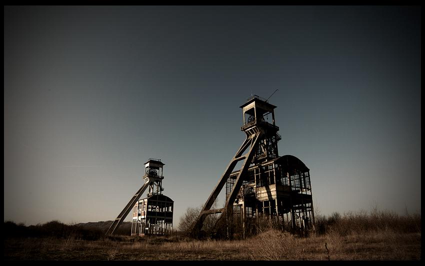 urbex urban exploration decay abandoned coal mine industry belgium belgique koolmijn eisden charbonnage limbourg-meuse