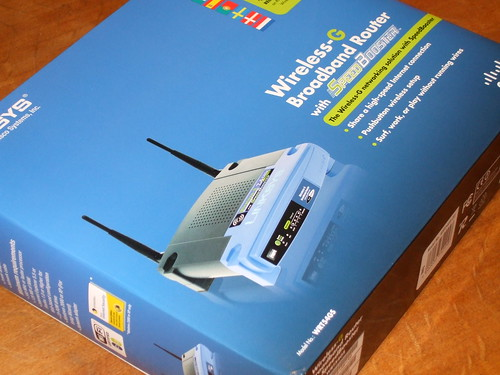 Brand new WRT54GS