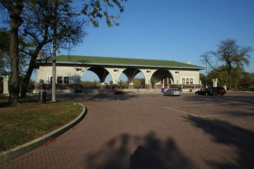 Humboldt Park pavillion