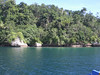 Seaside cliffs on Samal's coast