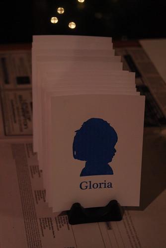 Gloria Cards Drying