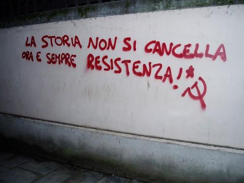 Italy Graffitti Christine Kim