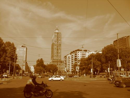 Piazza della Repubblica, Milan, Italy