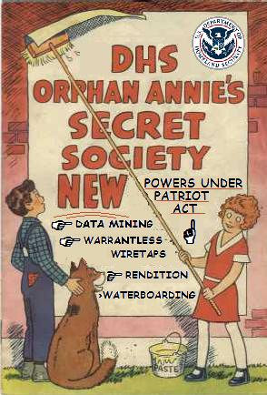 Orphan Annie and Joe the Plumber