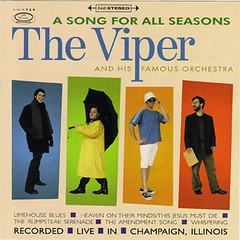Front cover art for 'A Song for All Seasons' by The Viper and His Famous Orchestra (2000)
