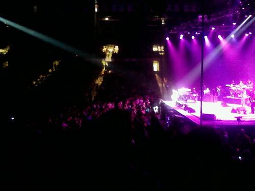 Santana at the UCF arena