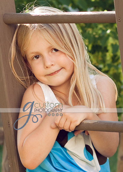 Natalie posing