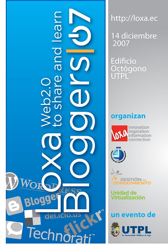 afiche loxa bloggers 2007