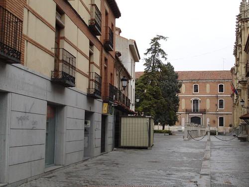 Calle Pedro Gumiel en la actualidad