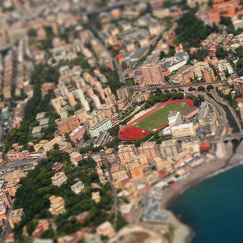 Genova Sturla dall'alto