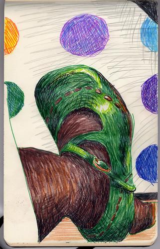 Green Fluevog