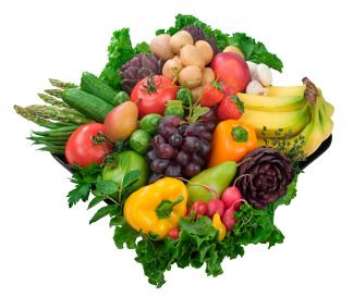 Healthy Fruits & Vegetables by khancafee.